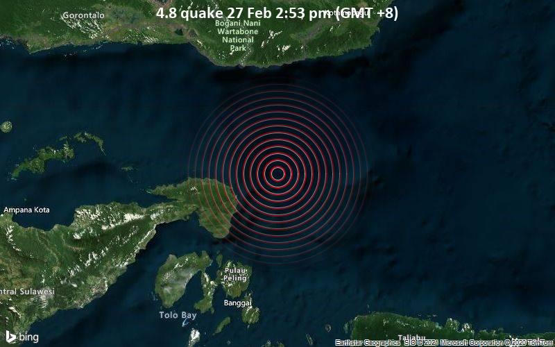 4.8 quake 27 Feb 2:53 pm (GMT +8)