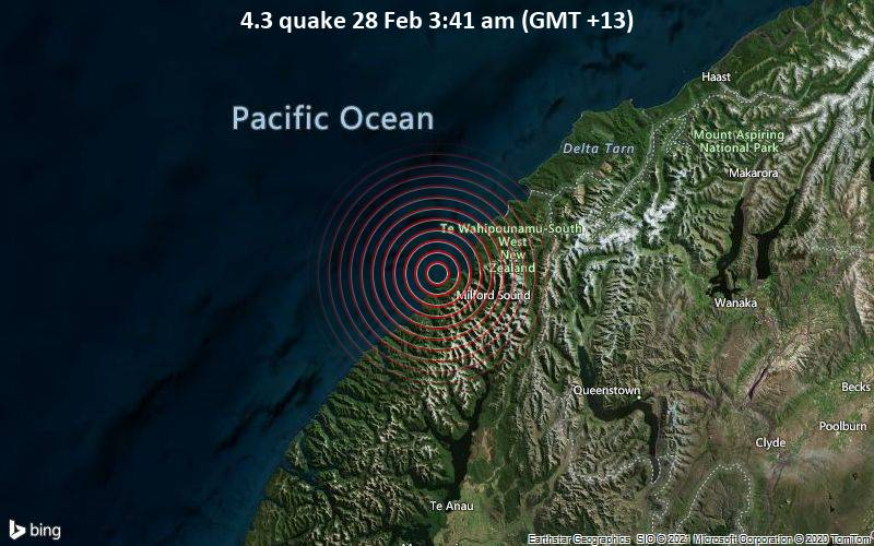4.3 quake 28 Feb 3:41 am (GMT +13)