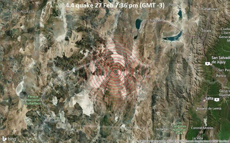 4.4 quake 27 Feb 7:36 pm (GMT -3)