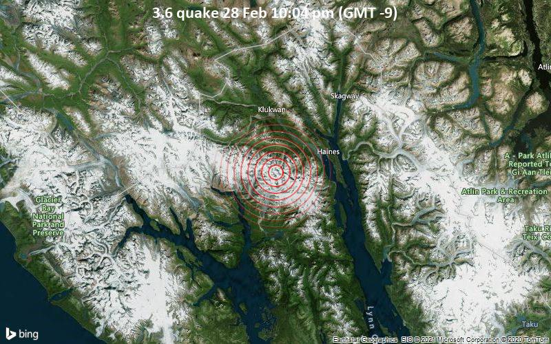 3.6 quake 28 Feb 10:04 pm (GMT -9)
