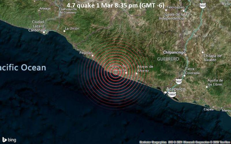 4.7 quake 1 Mar 8:35 pm (GMT -6)