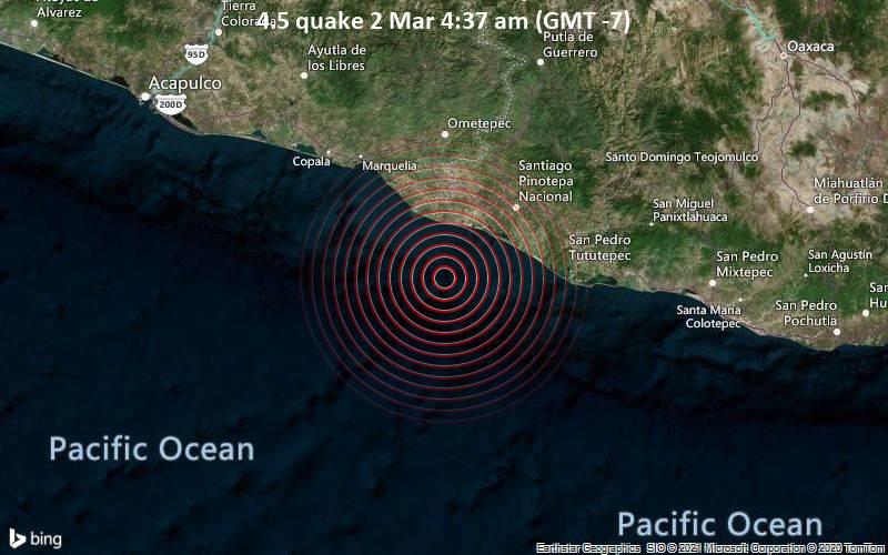 4.5 quake 2 Mar 4:37 am (GMT -7)