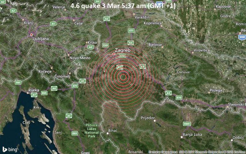 4.6 quake 3 Mar 5:37 am (GMT +1)