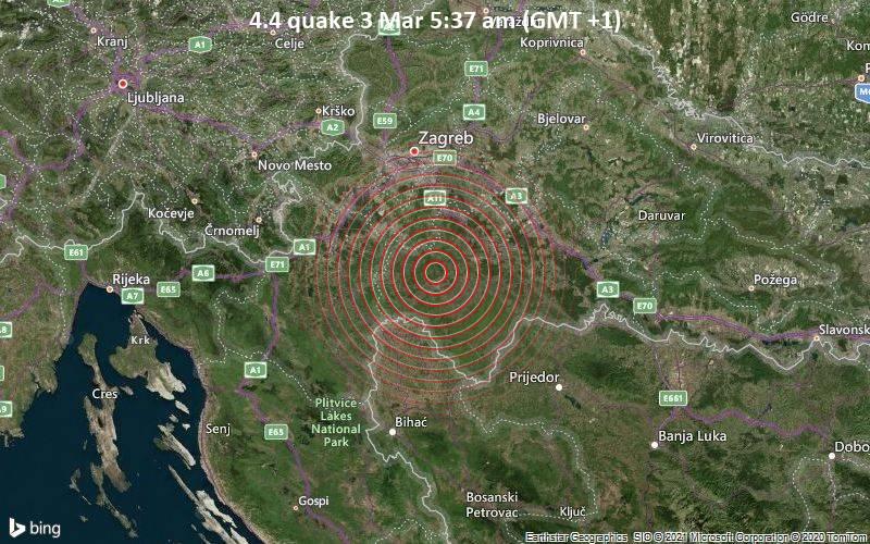 4.4 quake 3 Mar 5:37 am (GMT +1)