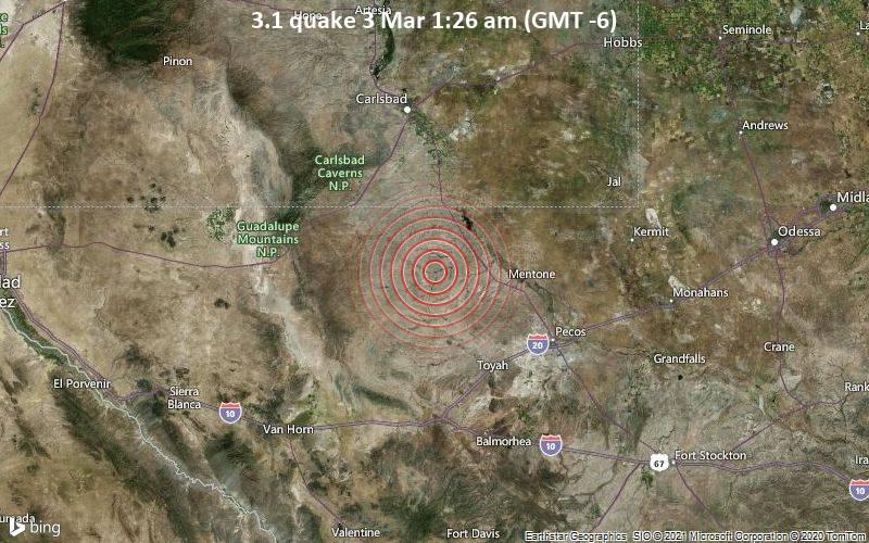 3.1 quake 3 Mar 1:26 am (GMT -6)