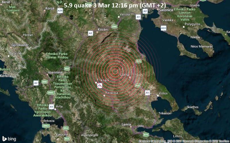 5.9 quake 3 Mar 12:16 pm (GMT +2)