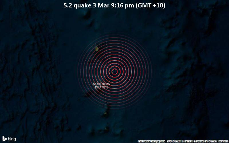 5.2 quake 3 Mar 9:16 pm (GMT +10)