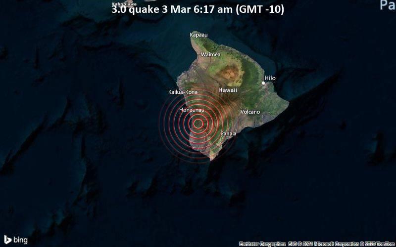 3.0 quake 3 Mar 6:17 am (GMT -10)