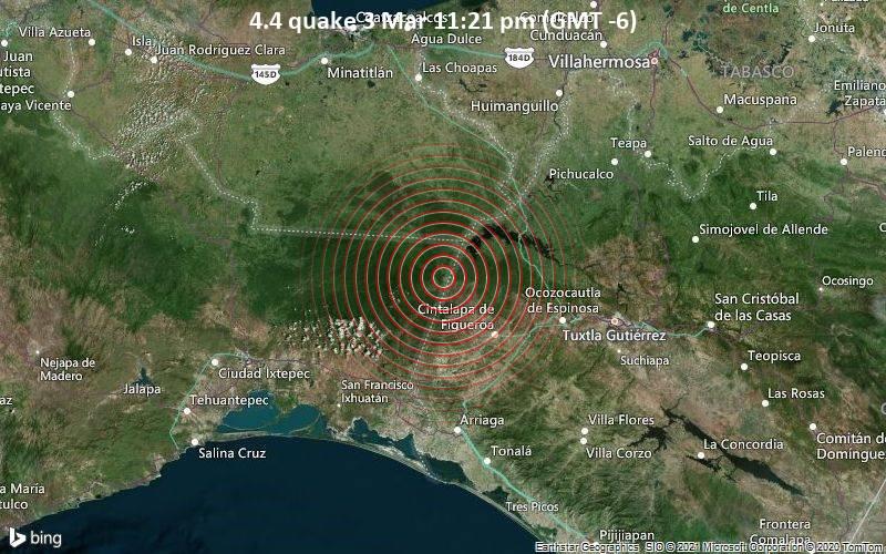 4.4 quake 3 Mar 11:21 pm (GMT -6)