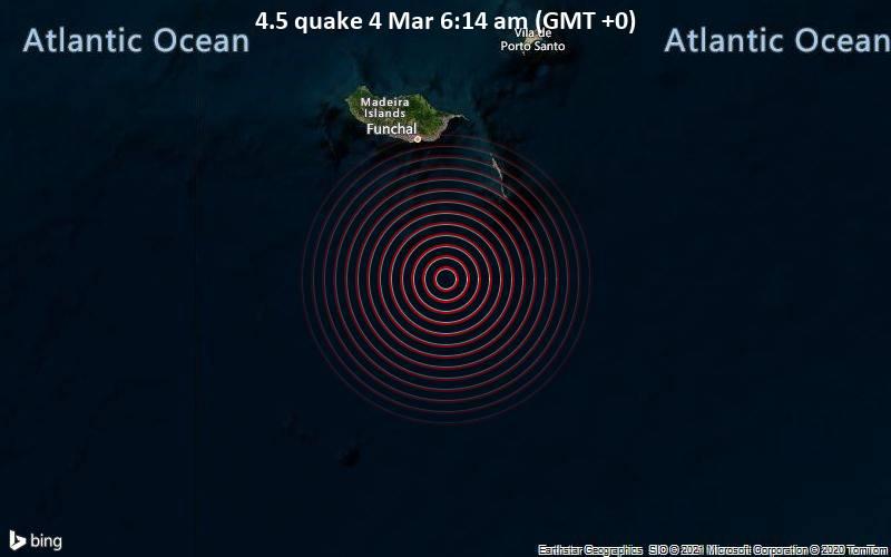4.5 quake 4 Mar 6:14 am (GMT +0)