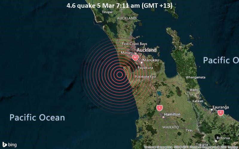 4.6 quake 5 Mar 7:11 am (GMT +13)
