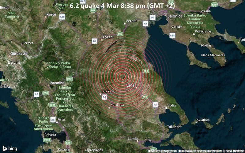 6.2 quake 4 Mar 8:38 pm (GMT +2)