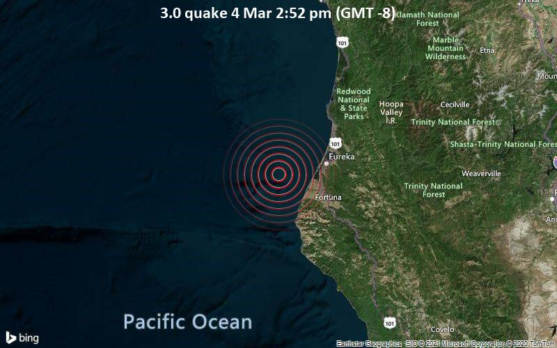 3.0 quake 4 Mar 2:52 pm (GMT -8)