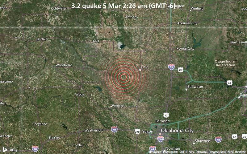 3.2 quake 5 Mar 2:26 am (GMT -6)