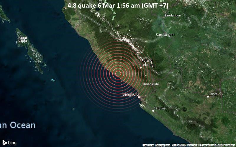 4.8 quake 6 Mar 1:56 am (GMT +7)