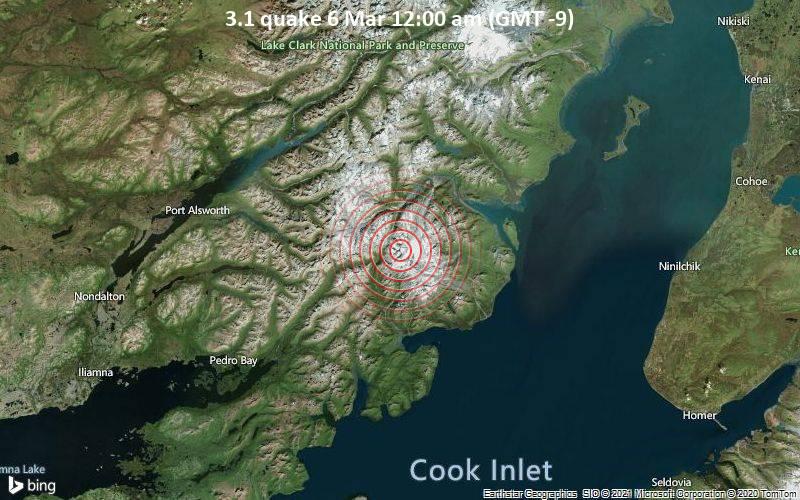 3.1 quake 6 Mar 12:00 am (GMT -9)