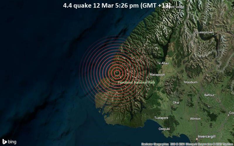 4.4 quake 12 Mar 5:26 pm (GMT +13)