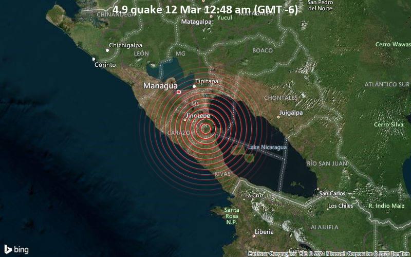 4.9 quake 12 Mar 12:48 am (GMT -6)