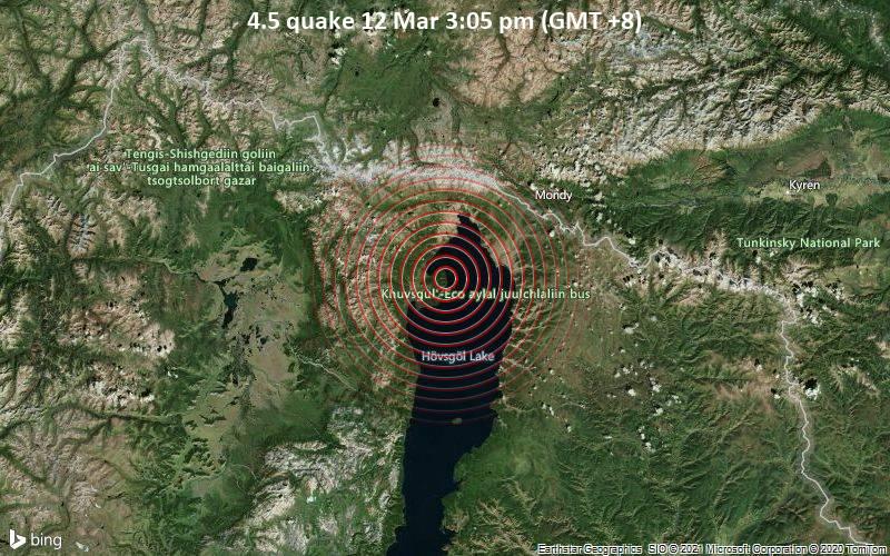 4.5 quake 12 Mar 3:05 pm (GMT +8)