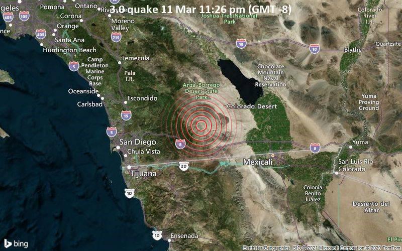 3.0 quake 11 Mar 11:26 pm (GMT -8)
