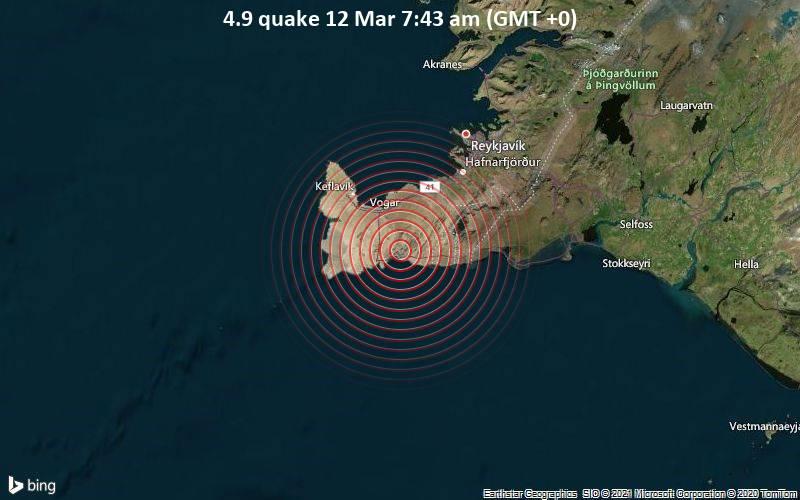 4.9 quake 12 Mar 7:43 am (GMT +0)