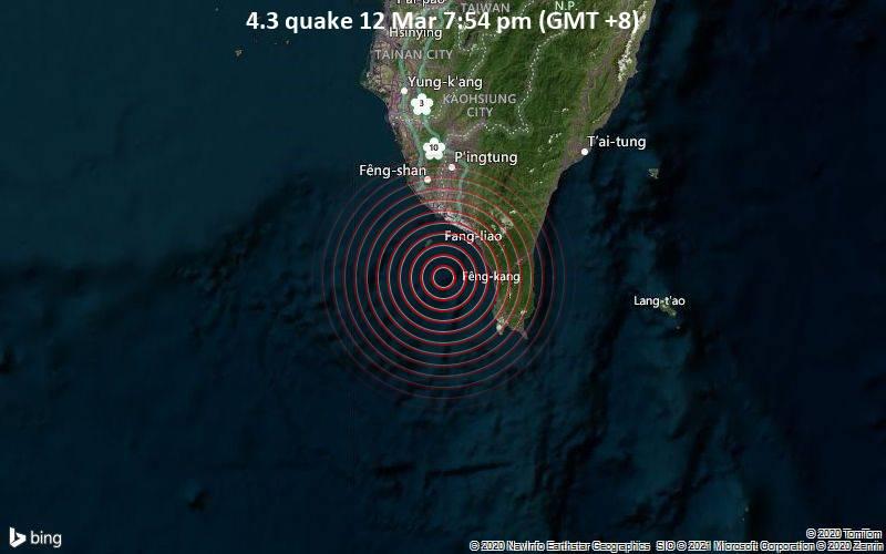 4.3 quake 12 Mar 7:54 pm (GMT +8)
