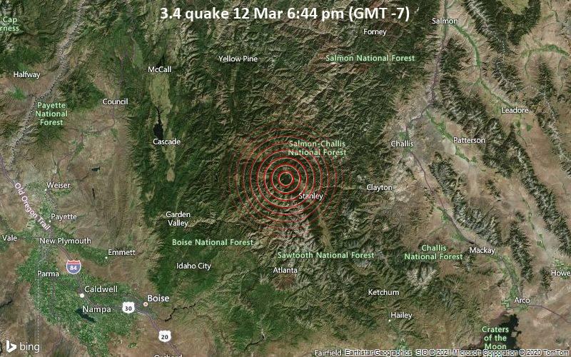 3.4 quake 12 Mar 6:44 pm (GMT -7)