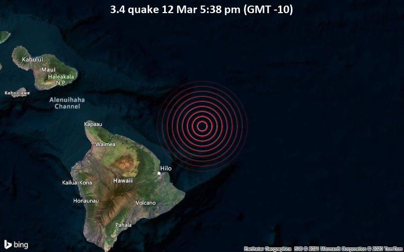 3.4 quake 12 Mar 5:38 pm (GMT -10)