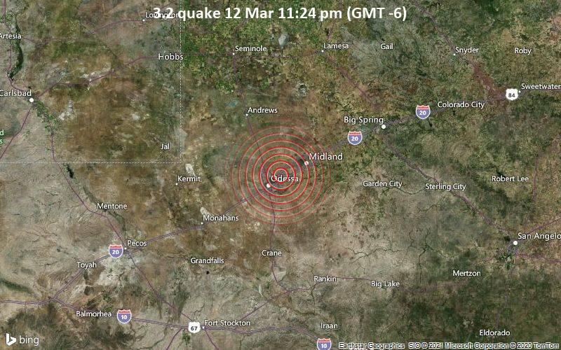3.2 quake 12 Mar 11:24 pm (GMT -6)