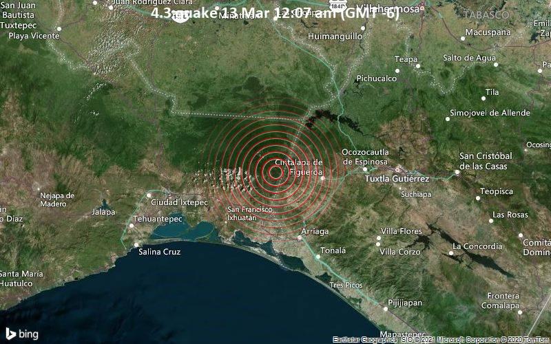 4.3 quake 13 Mar 12:07 am (GMT -6)