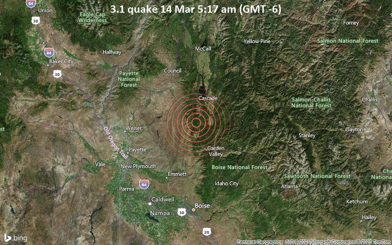 3.1 quake 14 Mar 5:17 am (GMT -6)