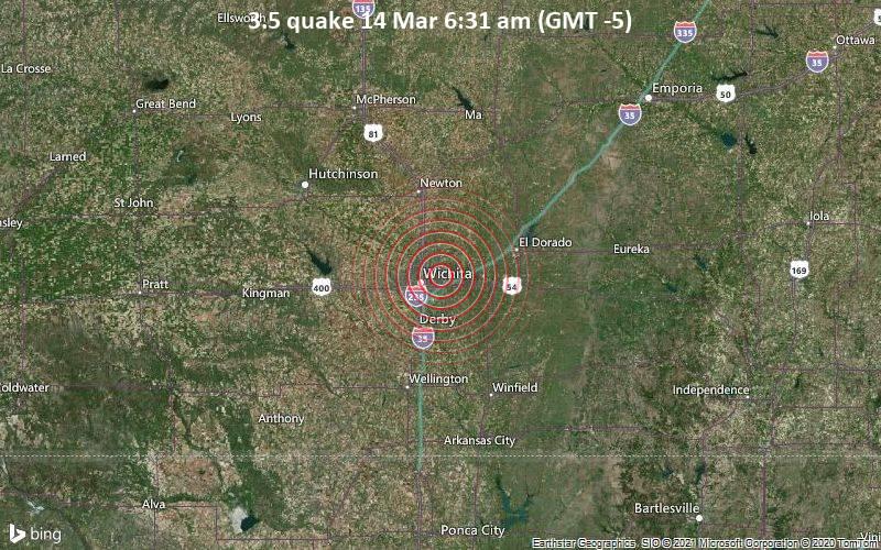 3.5 quake 14 Mar 6:31 am (GMT -5)