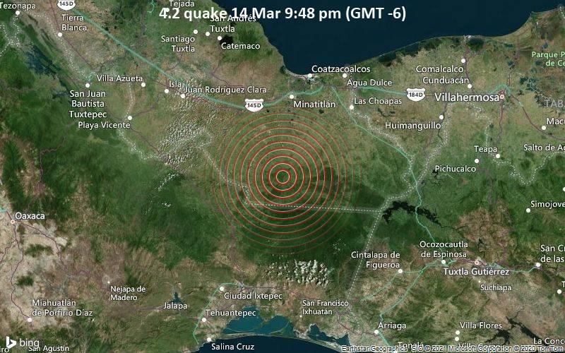 4.2 quake 14 Mar 9:48 pm (GMT -6)