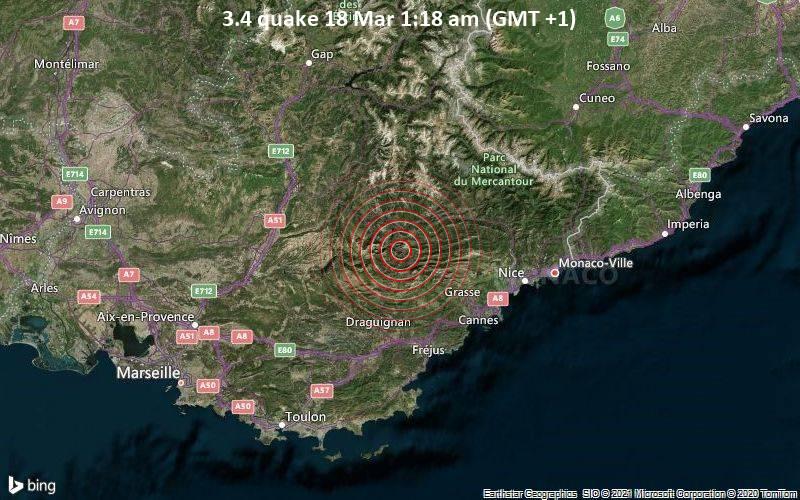3.4 quake 18 Mar 1:18 am (GMT +1)