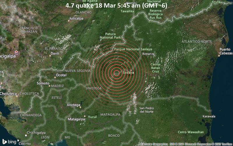 4.7 quake 18 Mar 5:45 am (GMT -6)
