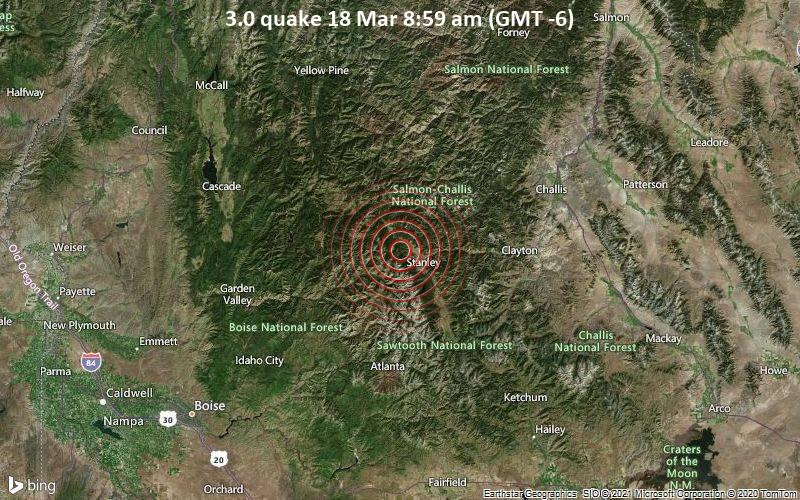 3.0 quake 18 Mar 8:59 am (GMT -6)