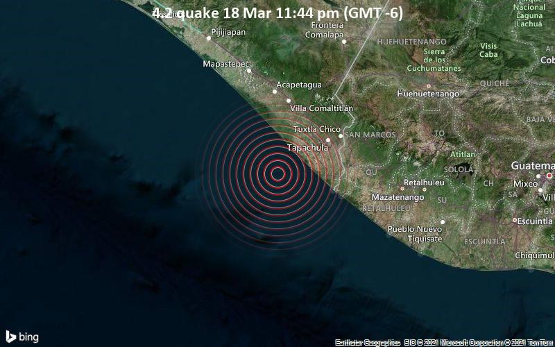 4.2 Gempa bumi 18 Maret 11:44 (GMT -6)