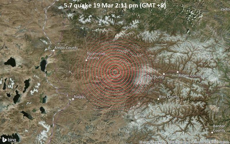 5.7 Gempa 19 Maret 14:11 (GMT +8)
