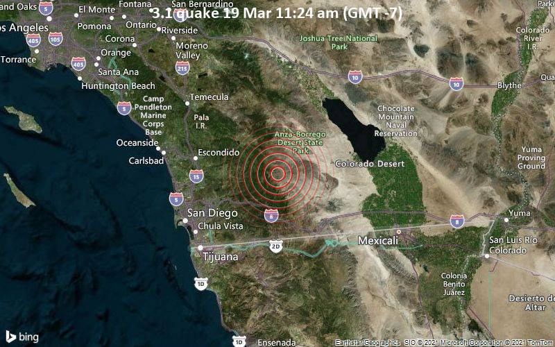 3.1 quake 19 Mar 11:24 am (GMT -7)