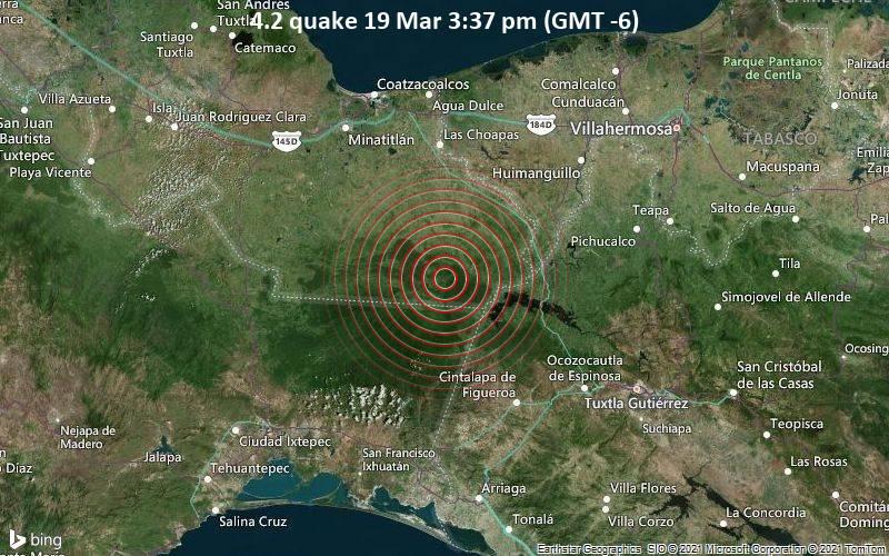 4.2 quake 19 Mar 3:37 pm (GMT -6)