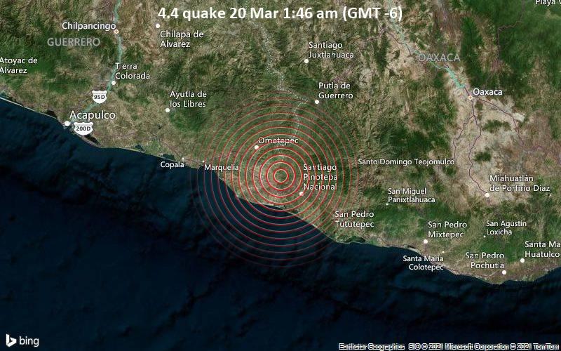 4.4 Gempa 20 Maret 01.46 (GMT -6)