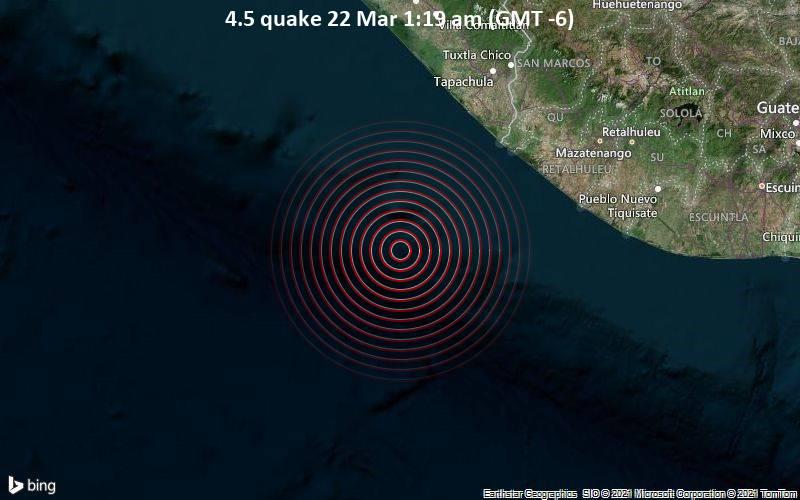 4.5 quake 22 Mar 1:19 am (GMT -6)