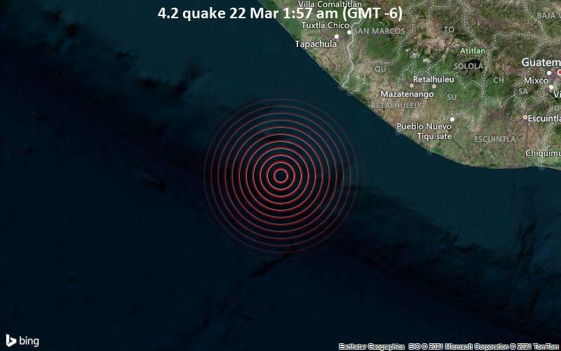 4.2 quake 22 Mar 1:57 am (GMT -6)