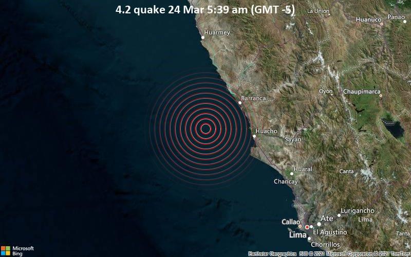 4.2 quake 24 Mar 5:39 am (GMT -5)
