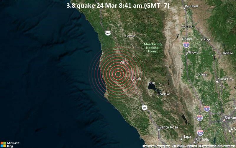 3.8 quake 24 Mar 8:41 am (GMT -7)