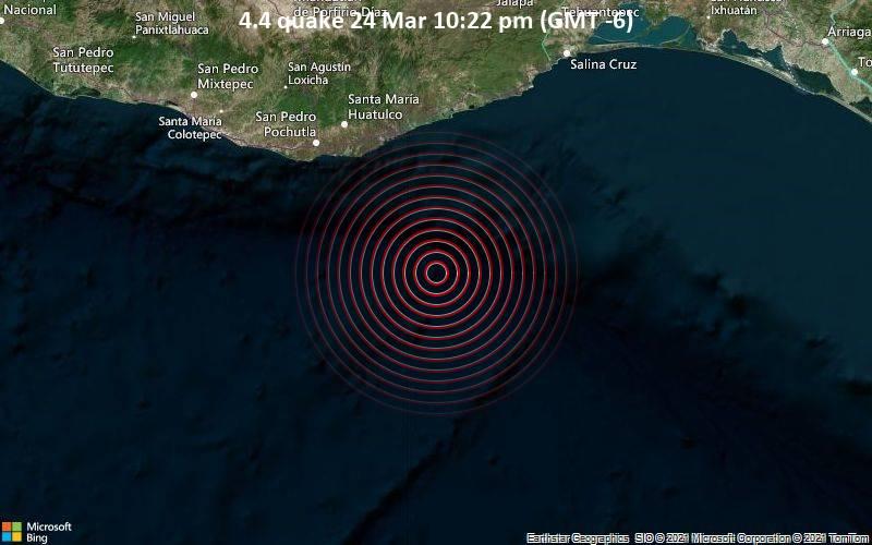 4.4 quake 24 Mar 10:22 pm (GMT -6)