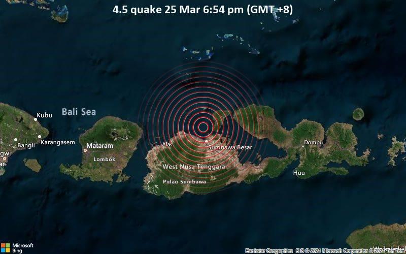 4.5 quake 25 Mar 6:54 pm (GMT +8)