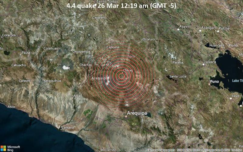 4.4 quake 26 Mar 12:19 am (GMT -5)