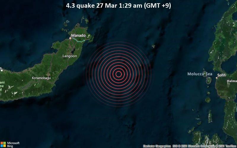 4.3 quake 27 Mar 1:29 am (GMT +9)