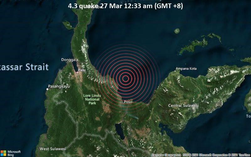 4.3 quake 27 Mar 12:33 am (GMT +8)